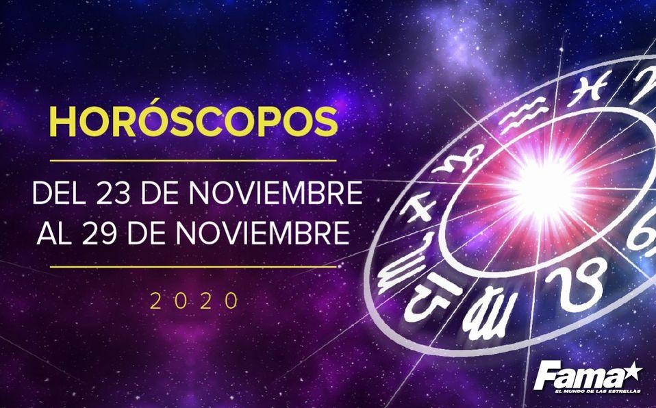 Horóscopos del 23 al 29 de noviembre