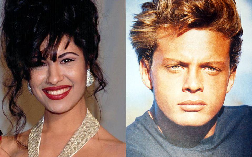 Esta foto de Selena y Luis Miguel  causó sensación (Instagram)