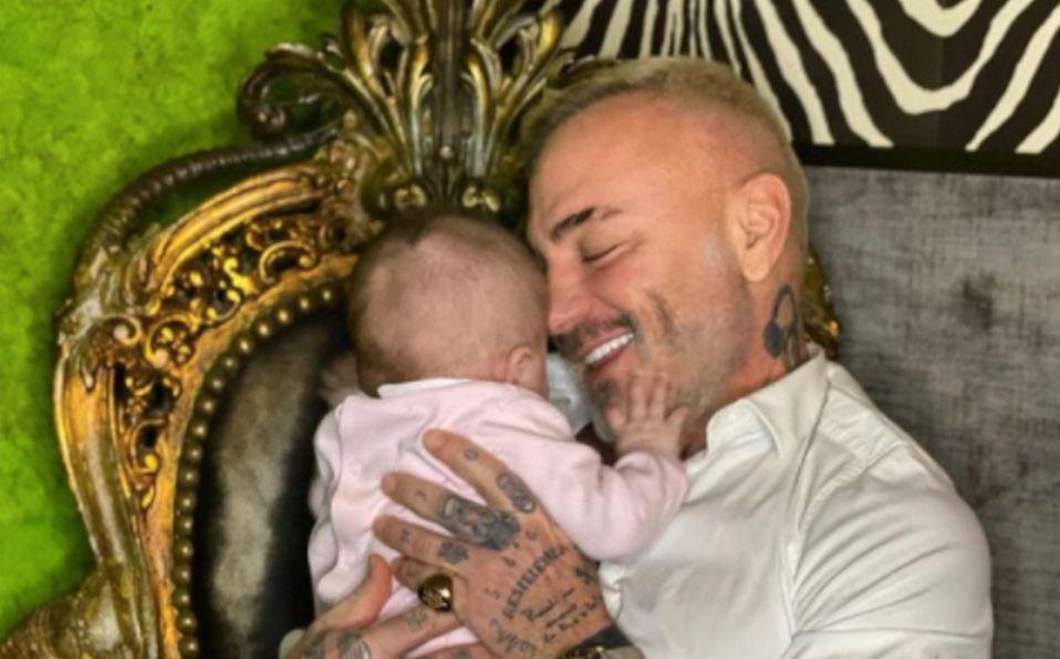 Gianluca Vacchi muestra cuánto ha crecido su hija Blu