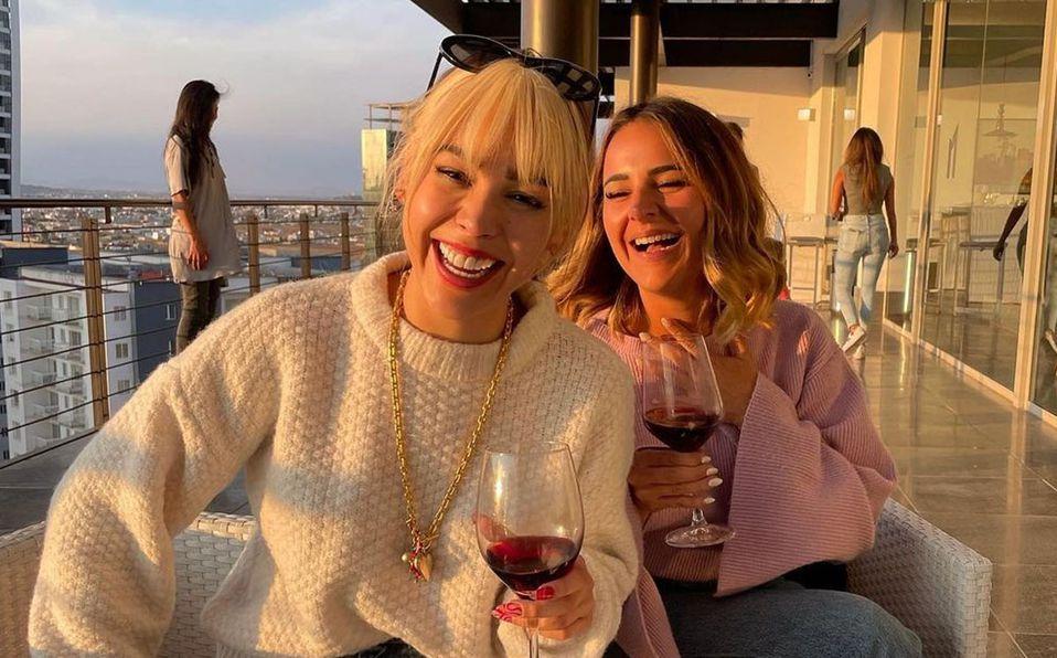 Danna Paola y Vania tienen muy buena relación (Instagram).