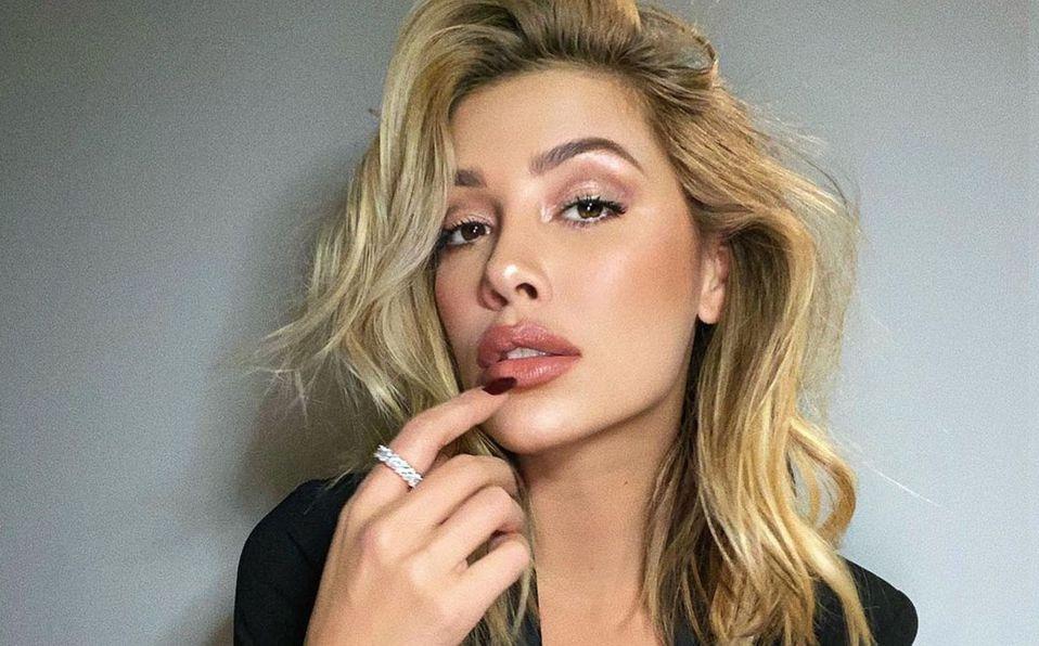 Michelle Salas impresionó con su look (Instagram).