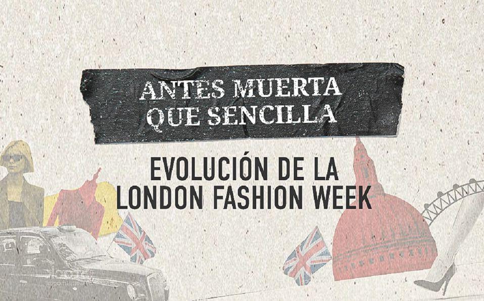 London Fashion Week es uno de los eventos más importantes de la moda en el mundo. (Especial)