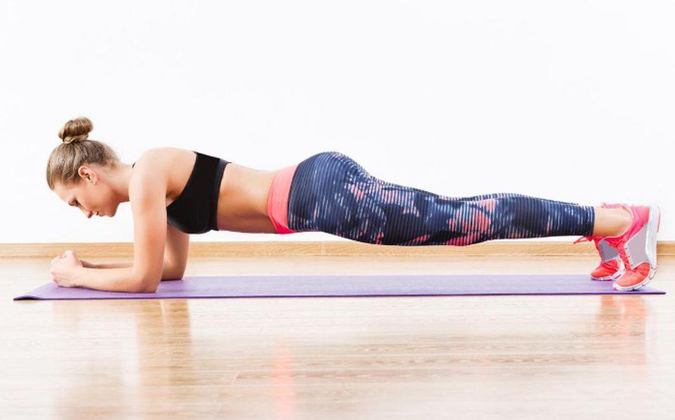 Checa los beneficios de las planchas/plank