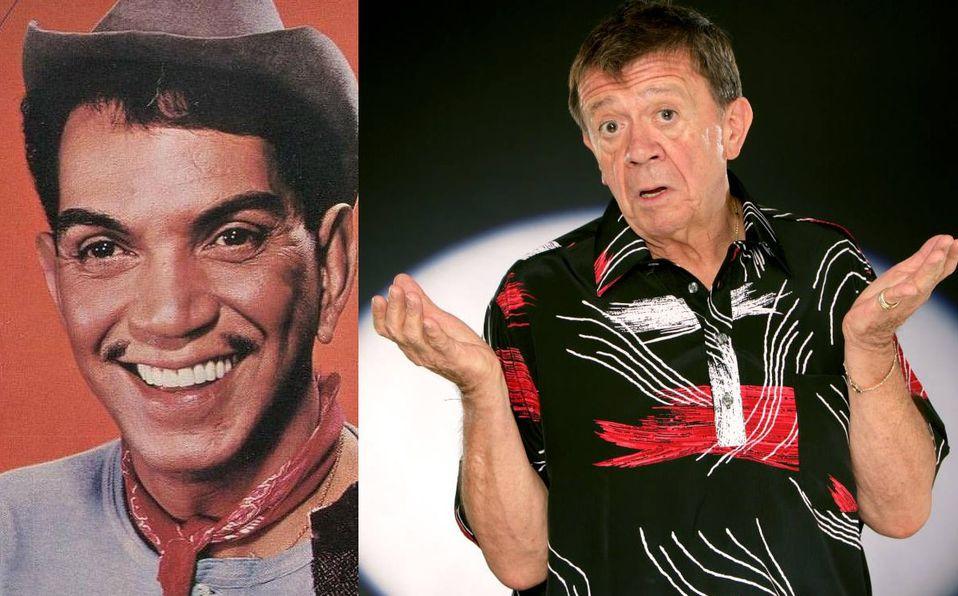 Chabelo y Cantinflas trabajaron juntos en 1962 (Facebook).