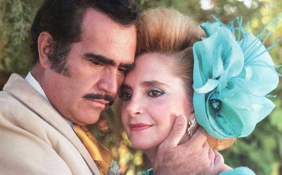 Doña Cuquita y Vicente Fernández han estado juntos desde 1963 (Instagram).