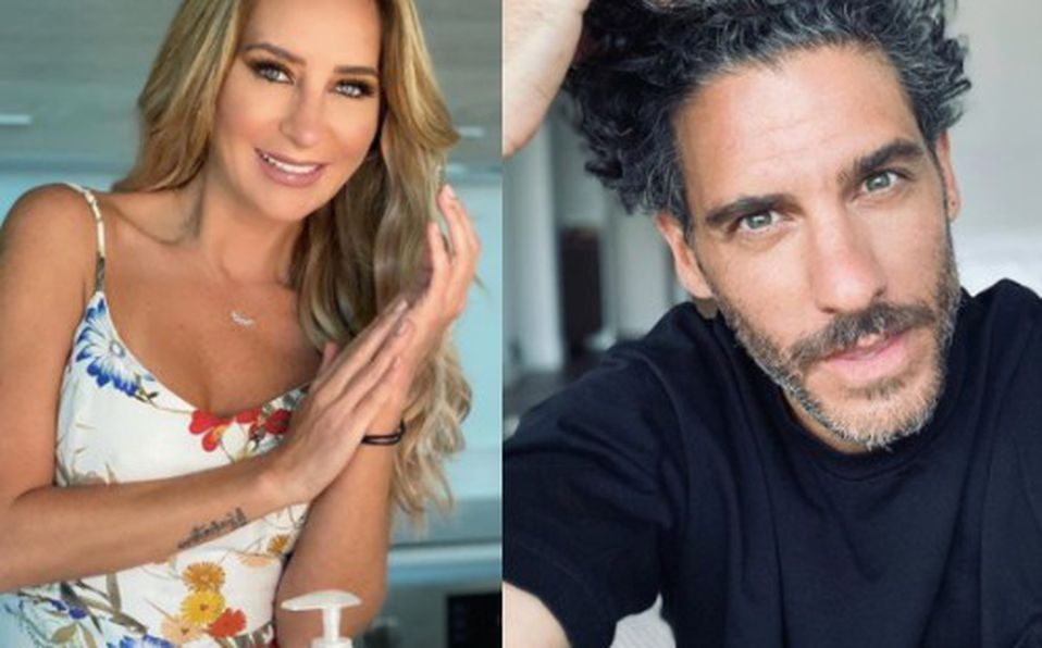 Geraldine Bazán y Erick Elías