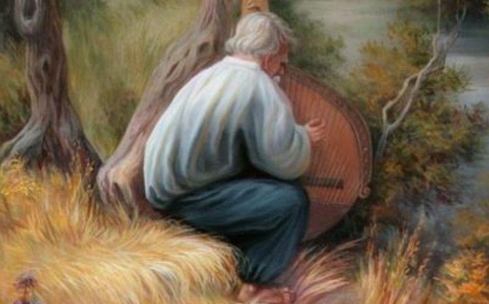 Reto visual: encuentra a las personas escondidas en esta pintura