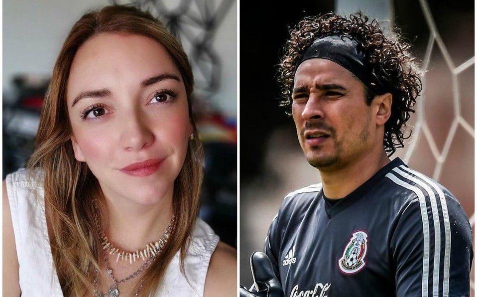 Regina Blandón y Guillermo Ochoa compartieron créditos en 'La Familia P. Luche' (Instagram).