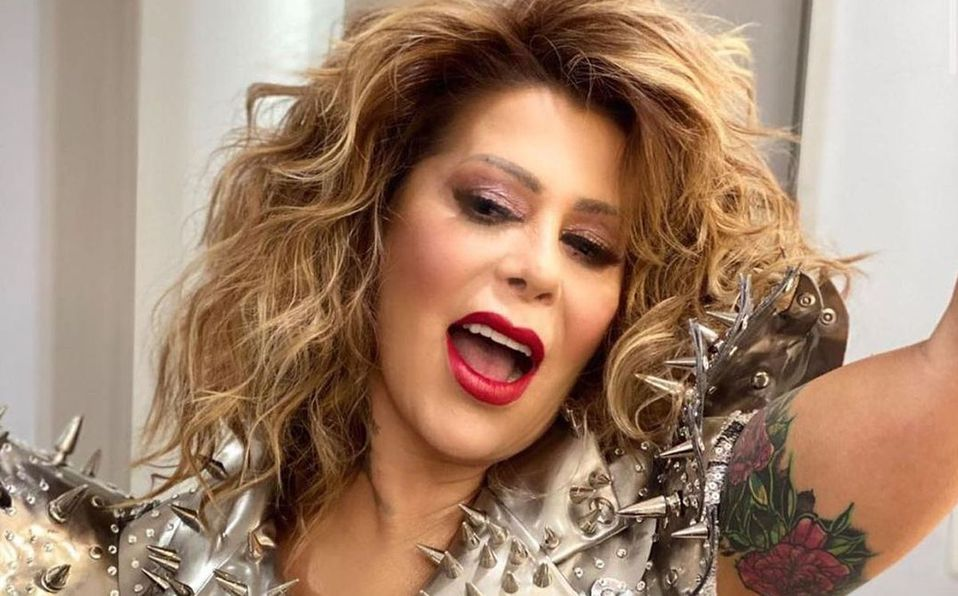 Alejandra Guzmán lanzó 'Yo te esperaba' en 1992 (Instagram).