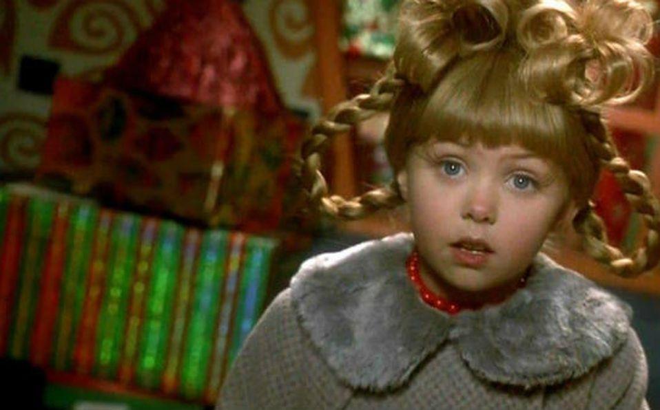 Así de espectacular luce ahora 'Cindy Lou' la tierna niña de 'El Grinch'