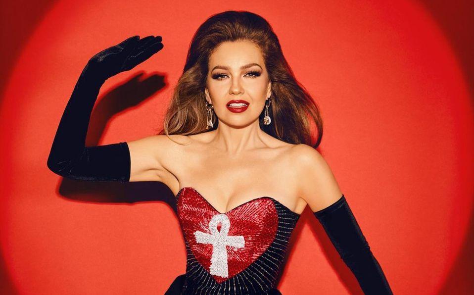 Thalía impactó con cada uno de sus looks (Instagram)