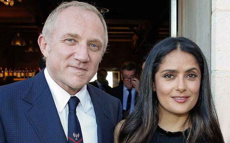 François-Henri Pinault tiene solo una hija con Salma Hayek (Instagram).