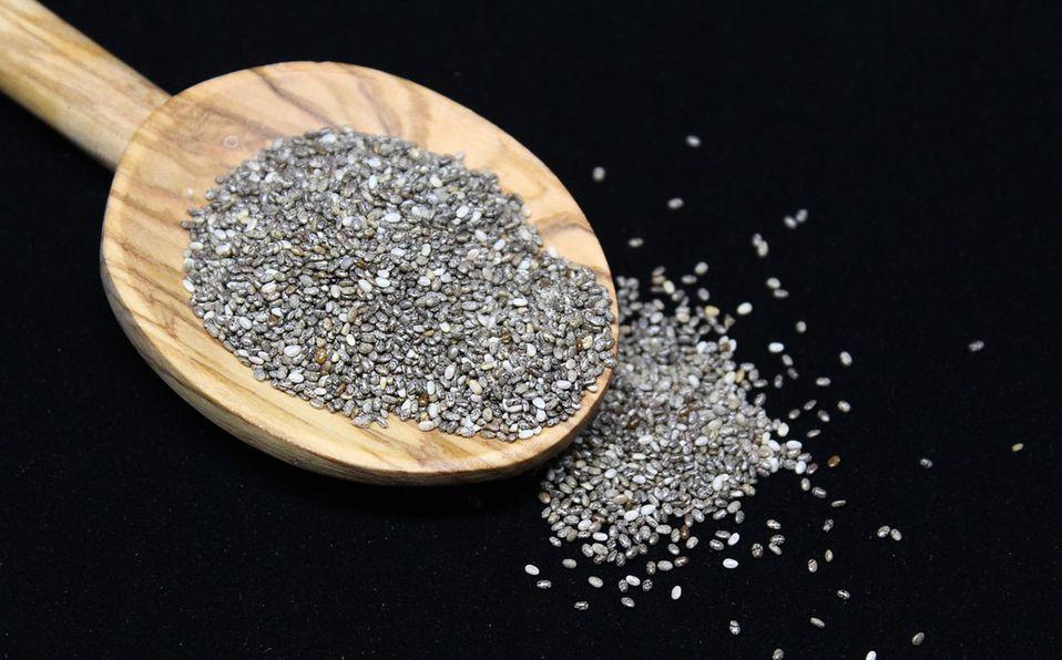 La semilla de chía es una buena fuente de proteína (Foto: Pixabay)