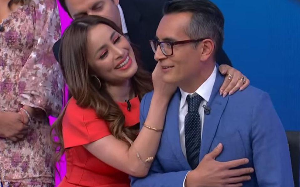 Cynthia Rodríguez y Sergio Sepúlveda vivieron momentos de tensión (Captura de pantalla).
