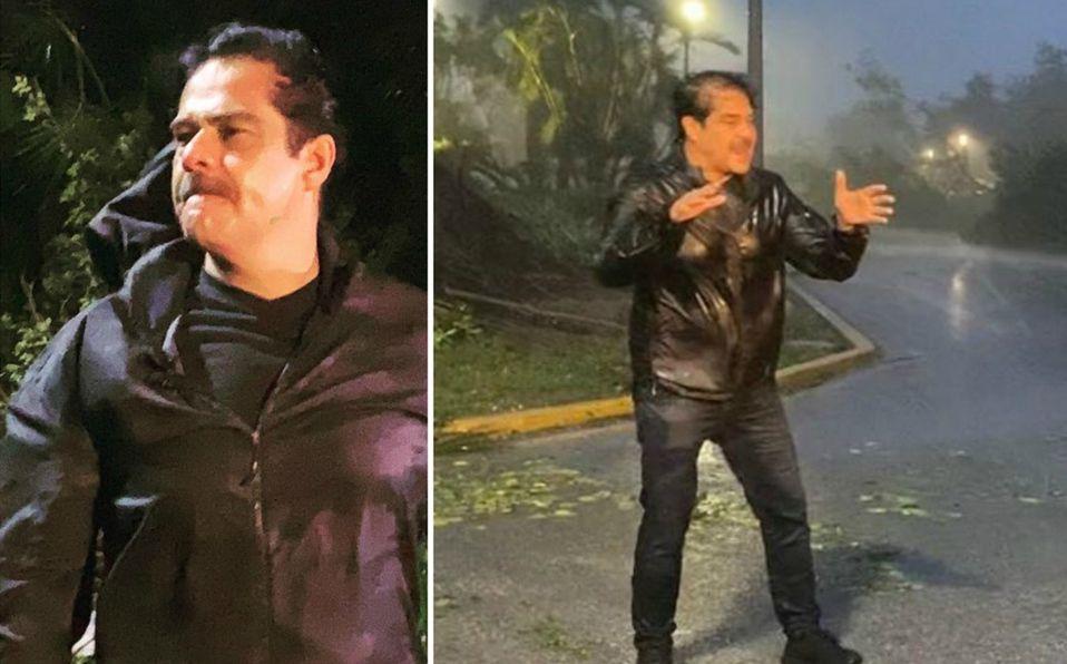 Javier Alatorre realizó varias transmisiones desde Quintana Roo  (Instagram).