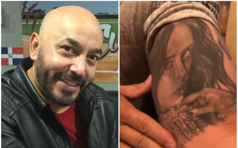 Lupillo Rivera no se borrará  tatuaje de Belinda