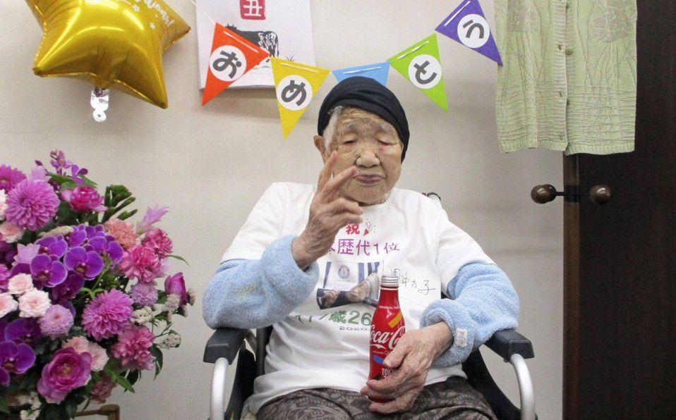 Esta es la dieta de la mujer más longeva del mundo de 117 años