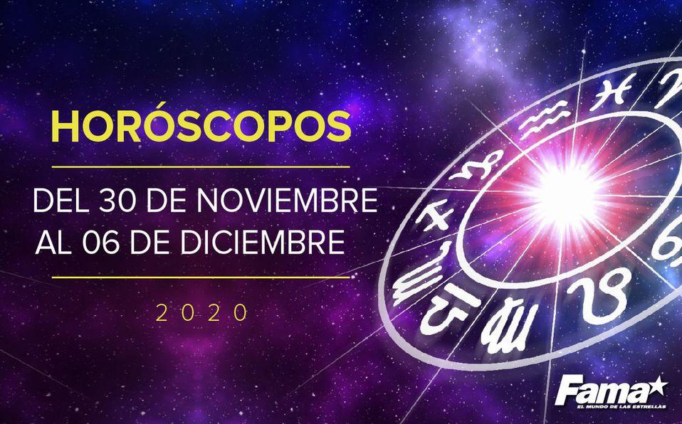 Horóscopo de hoy: Semana del 30 de noviembre al 06 de diciembre de 202