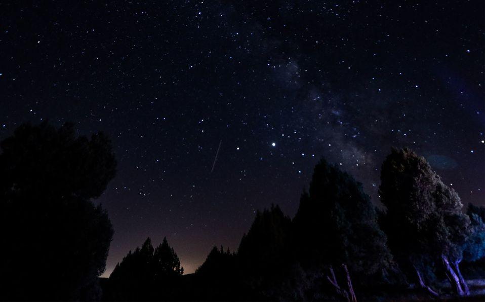Lluvia de estrellas de las Gemínidas (Getty).