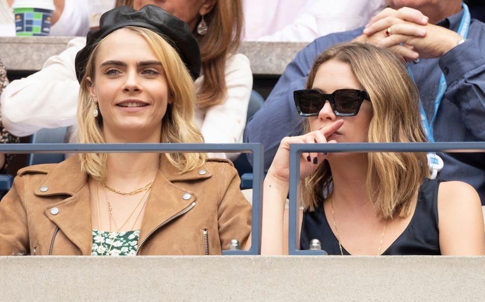 Cara Delevigne y Ashley Benson solían acudir a eventos deportivos constantemente (Shutterstock).