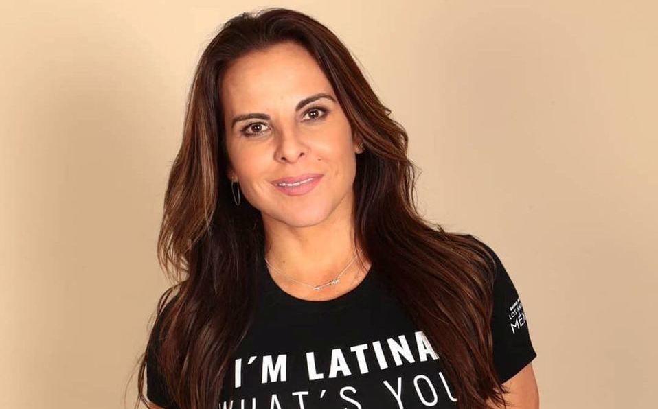 Kate del Castillo recordó sus inicios en la televisión (Instagram).