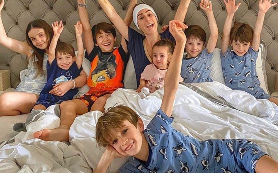 Inés Gómez Mont: ellos son los papás de sus siete hijos
