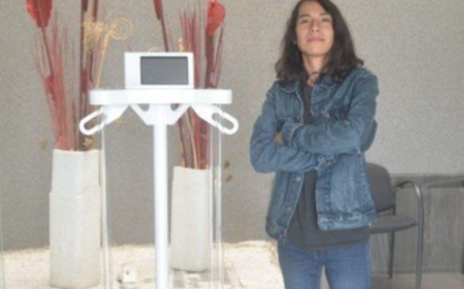 Covid-19: Estudiante mexicano crea maquila que elimina el coronavirus
