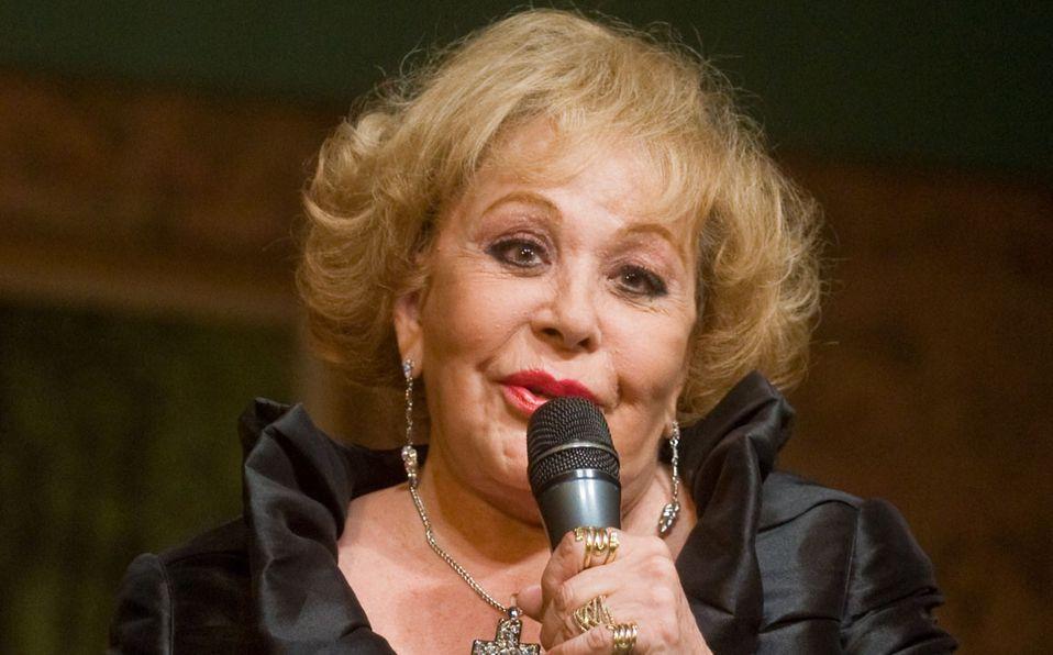 Silvia Pinal rompió el silencio (Cuartoscuro).