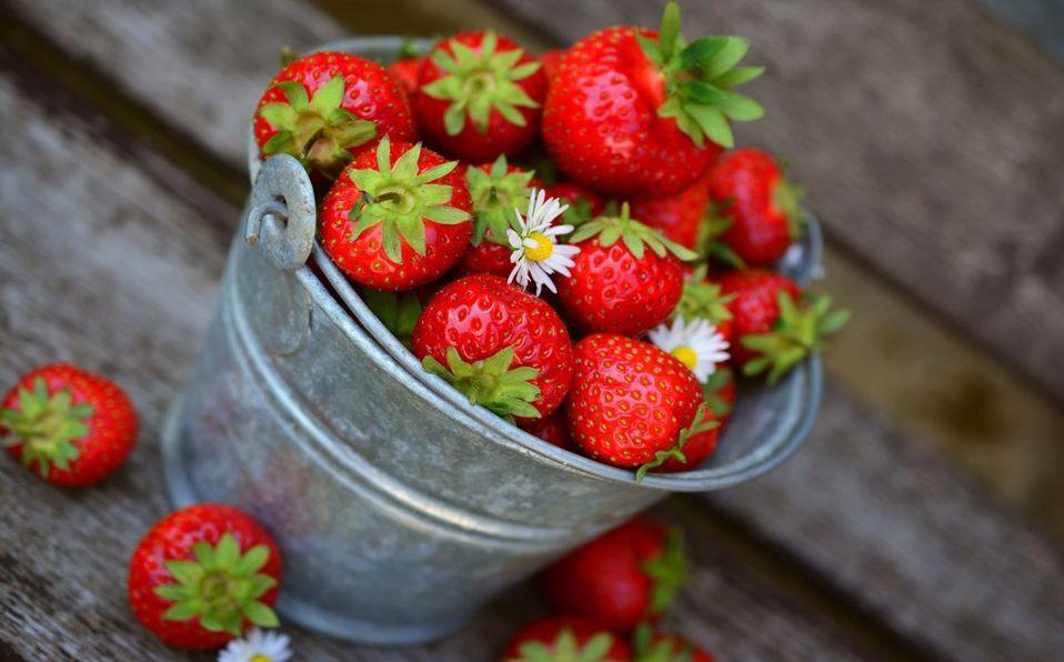 Las fresas son un excelente afrodisiaco