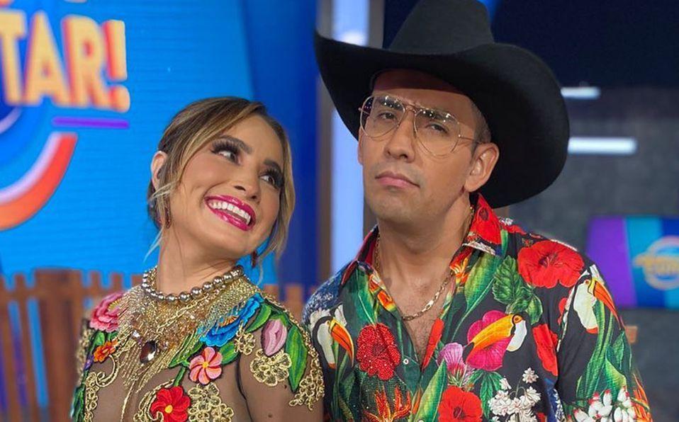 Cynthia Rodríguez cantó junto a 'EL Capi' (Instagram).