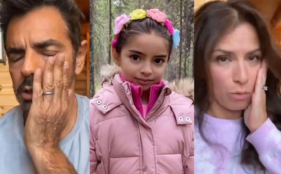Aitana Derbez sorprendió a su familia (Instagram).