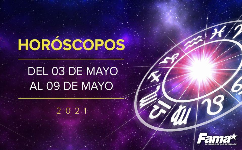 Horóscopo de hoy: Semana del 3 al 9 de mayo de 2021