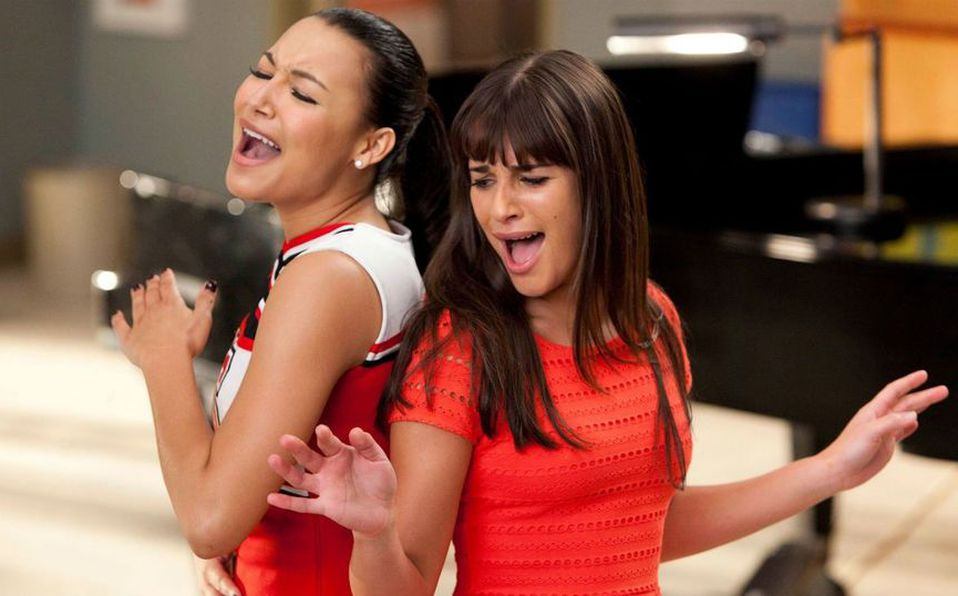Lea Michelle y Naya Rivera
