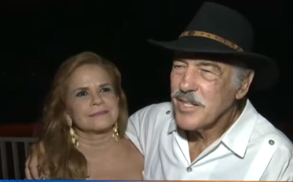Andrés García explicó sus razones (Captura de pantalla).