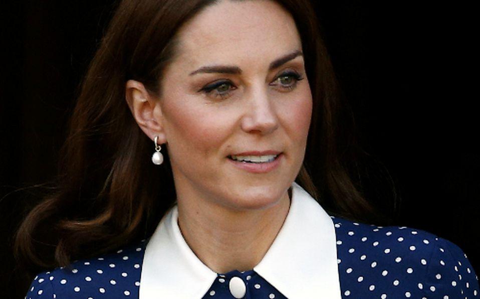 Vestido de lunares de Kate Middleton
