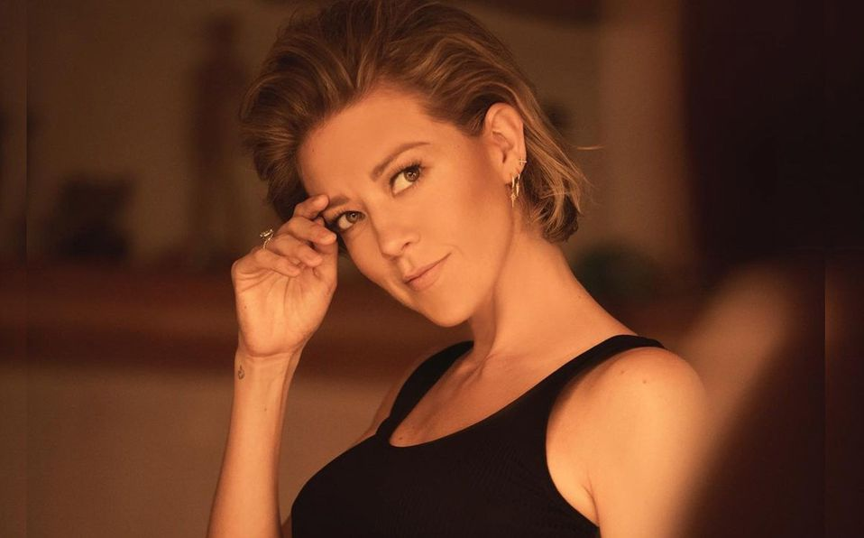 La actriz posó junto a Erik Hayser (Instagram).