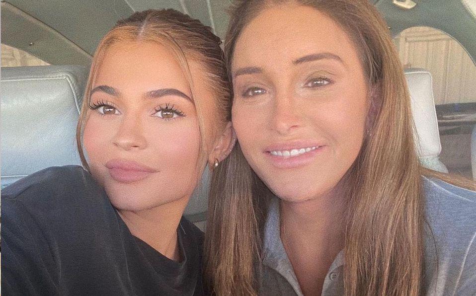 Caitlyn Jenner llamó a su hija para que la maquillara (Instagram).