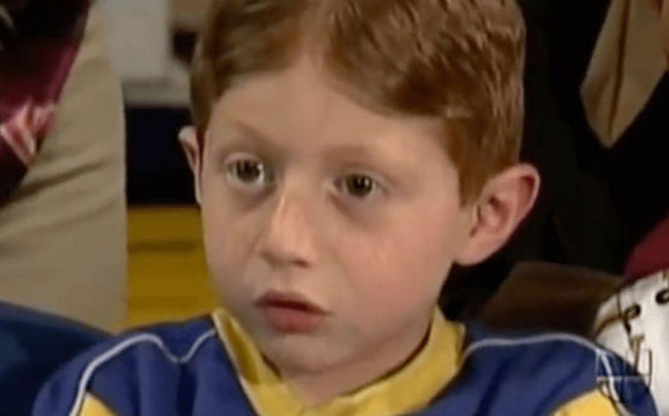 Así luce ahora 'Benito' el 'niño actor' de 'Vecinos'