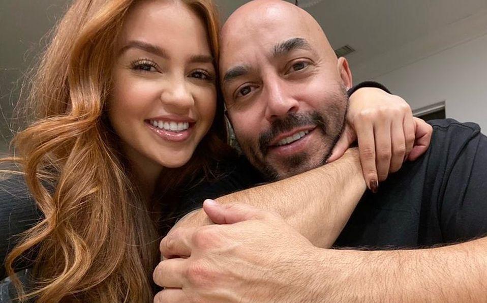 Giselle Soto y Lupillo Rivera se casaron hace poco (Instagram).