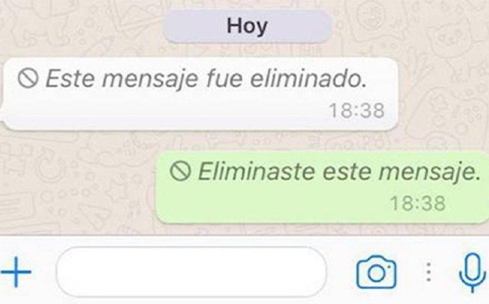 WhatsApp: Así puedes ver los mensajes eliminados que te envían