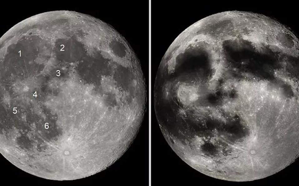 La noche de Luna llena se puede apreciar 'la cara' (El Mundo).
