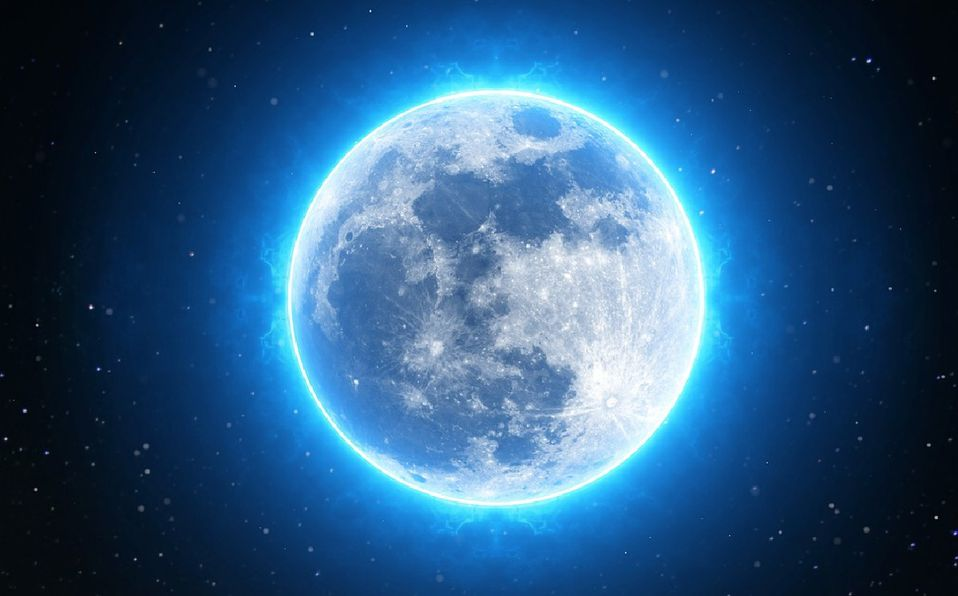 La Luna Azul traerá buenas energías