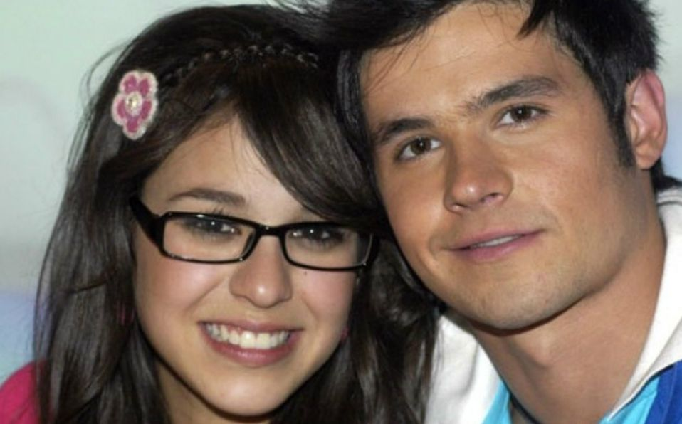 Danna Paola y Eleazar Gómez