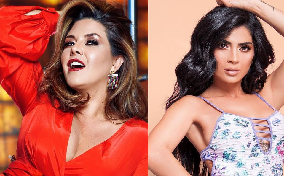 Alicia Machado se quedó de las actitudes de Kimberly Flores (Instagram).