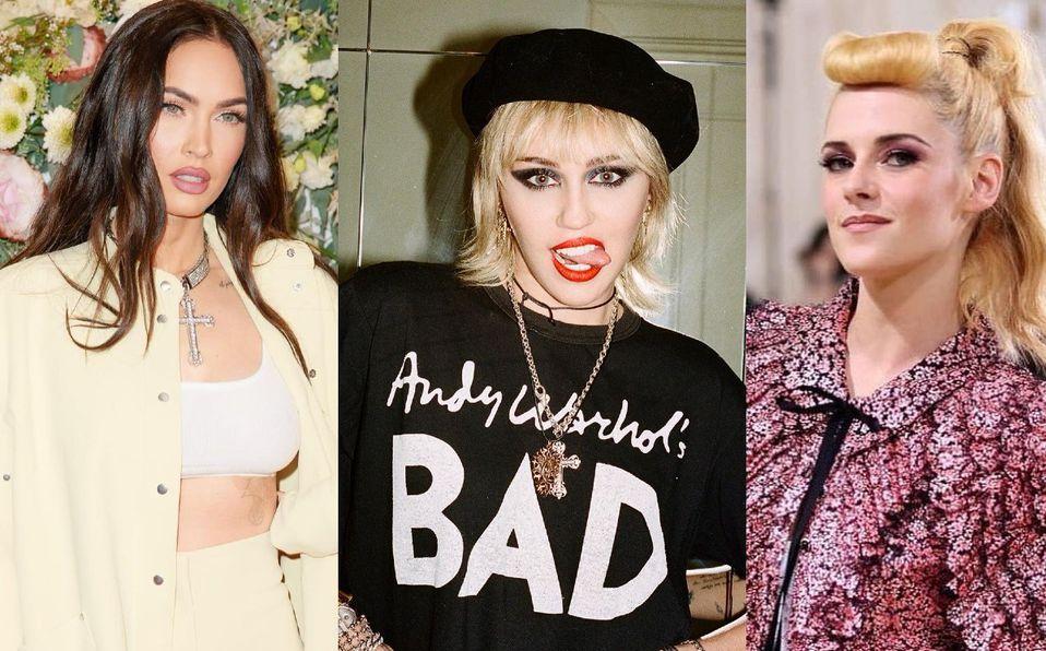 Megan Fox, Miley Cyrus, Kristen Stwart