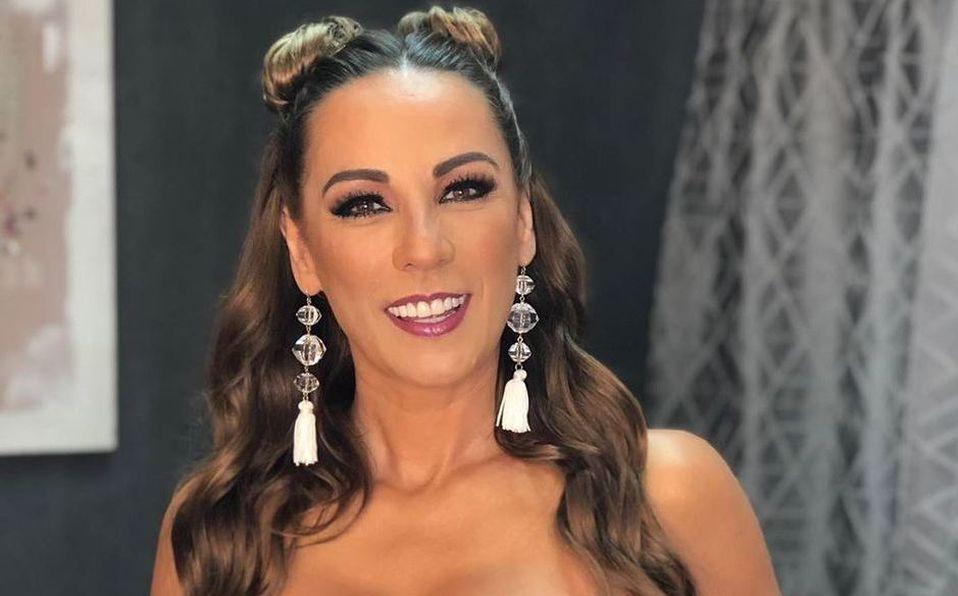 Consuelo Duval muestra video de su debut en la TV (Instagram).