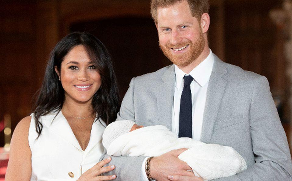 Meghan Markle y Harry presentan a su primer bebé