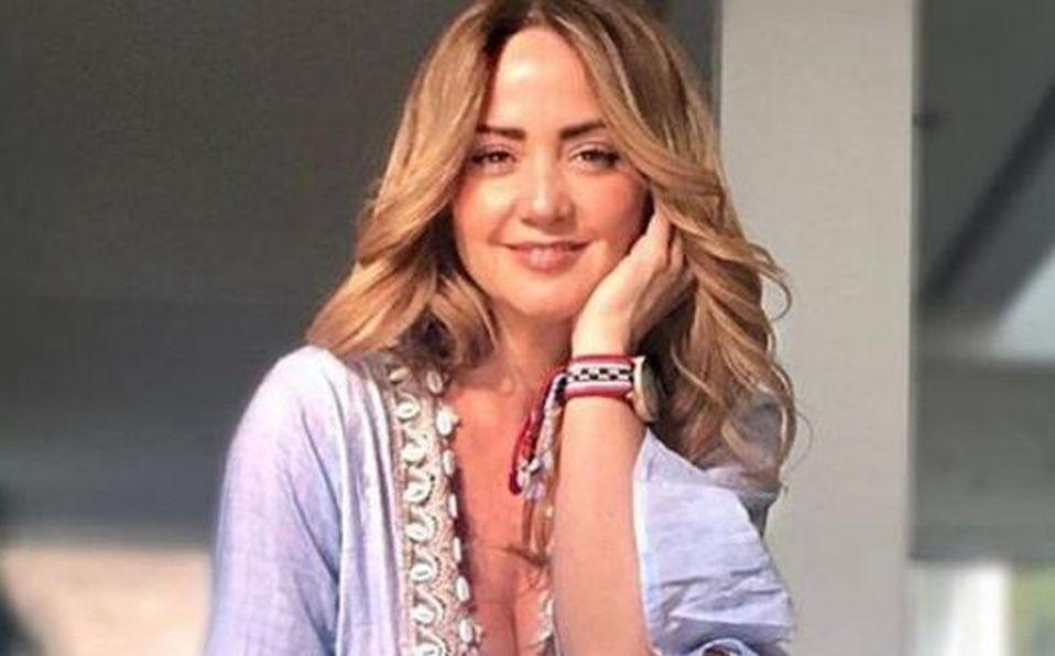 Mía Rubín luce vestido y es comparada con Andrea Legarreta