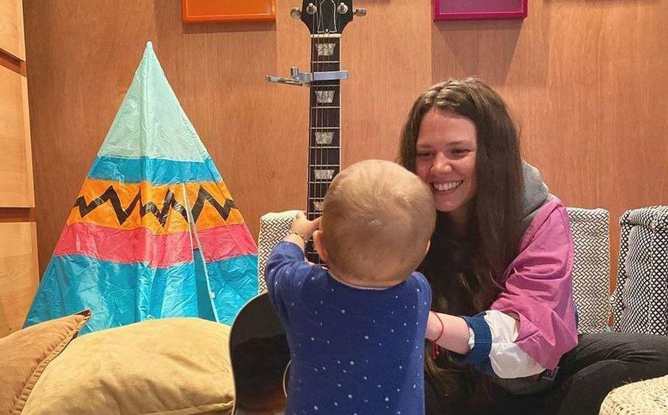 Joy Huerta presume el gran talento musical de su hija Noah (Instagram).