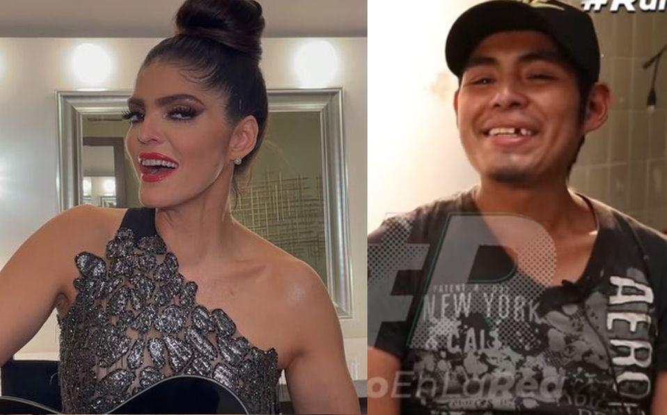 Ana Bárbara reconoció a Miguel Ángel y le envió un mensaje (Instagram).